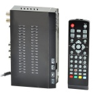 Full HD 1080P ISDB-T Digital Set Top Box w/ PVR, EPG, Timeshift Functions - Black
