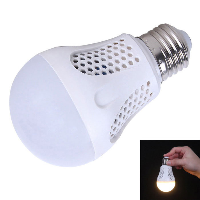 KINFIRE 7W 3000K Warm White 30-SMD LED Intelligent Emergency Bulb