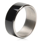 TIMER MJ2 Waterproof Wearable NFC Smart Ring - Black (No Need to Charge / 8# Size)