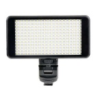 EOSCN 20W 3200K/6000K 2500 Lux Portable 228-LED Video Light - Black