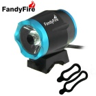 FandyFire Outdoors XM-L T6 8-Mode Cool White Light 900lm Bike Bicycle Headlamps - Black + Blue