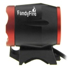 FandyFire T6 Cold White LED Headlight for Mountain Bike - Black + Red