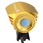 FandyFire T6 3-Mode Cold White LED Headlight for Mountain Bike - Gold