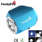 FandyFire XM-L T6 3-Mode Cool White Light 900lm Bike Bicycle Headlamps - Blue (4 x 18650)