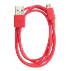 USB 2.0 M to Micro5pin M Data Cable for Samsung, HTC - Red (1m)