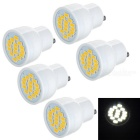 GU10 3W LED Mini Spotlight Bulb Lamp Cool White Light 8172K 230lm 15-SMD 5730 (AC 220~240V / 5PCS)