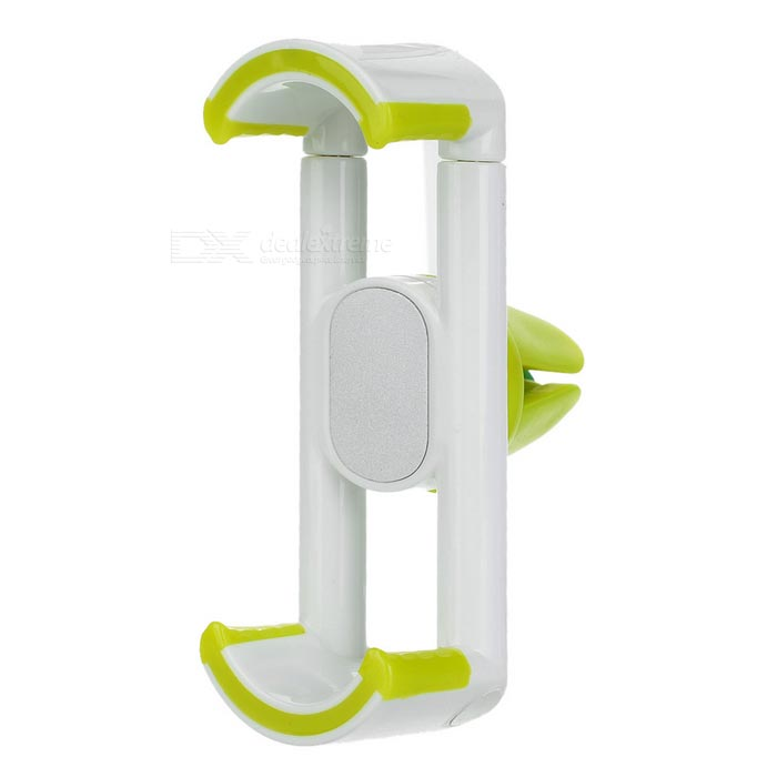 Car Air Vent Mount for IPHONE, Android Phones - Green + White