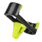 Universal Car Air Vent Mount Holder for IPHONE + More - Black + Green