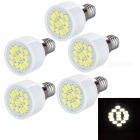 E14 3W LED Spotlight Bulb Lamp Cool White Light 8064K 230lm 15-SMD 5730 (AC 220~240V / 5PCS)