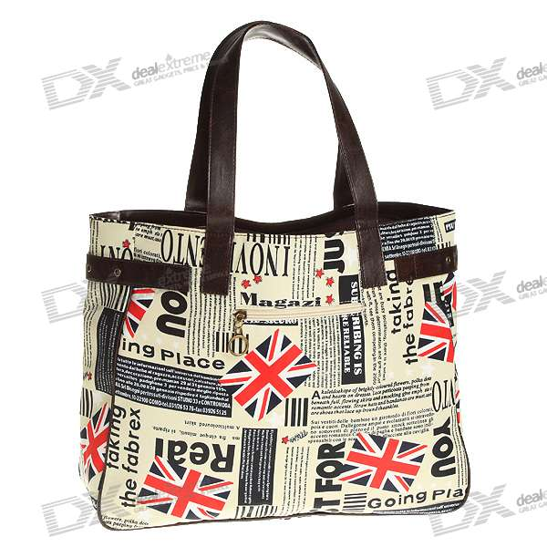 Stylish National Flag Patterned Carrying Bag