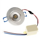 Wired 1W LED bombilla de proyector blanco neutro w / driver