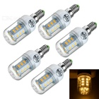 E14 5W LED Corn Lamps Warm White 3200K 200lm 24-SMD 5730 (5PCS)
