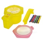 Painting Projector + Pastel Pencil for Children - Yellow + Multicolor