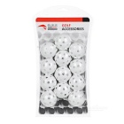 TOURLOGIC indoor praticar PE bolas de golfe - branco (12PCS)
