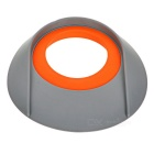 TOURLOGIC Rubber Golf Putting Cup - Grey + Orange