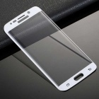 0.3mm Full Cover Tempered Glass Film for Samsung S6 Edge - White
