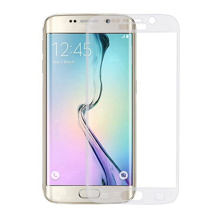 0.3mm Full Cover Tempered Glass Film for Samsung S6 Edge - Transparent
