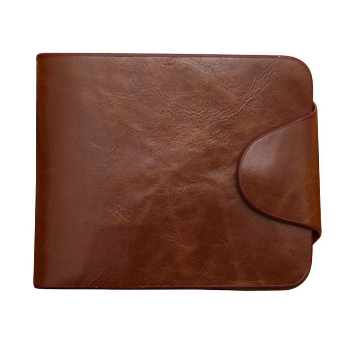Mens Cow Split Leather Casual Short Style Wallet - CoffeeWallets and Purses<br>Form ColorCoffeeQuantity1 DX.PCM.Model.AttributeModel.UnitShade Of ColorBrownMaterialCow split leatherGenderMenSuitable forAdultsOpeningHaspStyleFashionWallet Dimensions12 x 10 x 1.5cmOther FeaturesOne photo slot, one cash slot, one zipper bag, seven card slots.Packing List1 x Wallet<br>