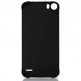 DOOGEE PU + Plastic Back Cover Case for DOOGEE F3 / F3 Pro - Black