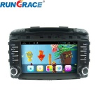 "Rungrace 8"" Android 2 Din Car DVD Player w/ BT, GPS, RDS, CANBUS, IPOD,ISDB-T, Wi-Fi for Kia Sorento"