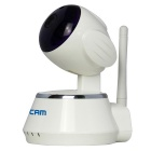 "ESCAM seguro Dog QF510 1/4 ""CMOS 1MP Alarme Câmara IP - White (Plug UE)"