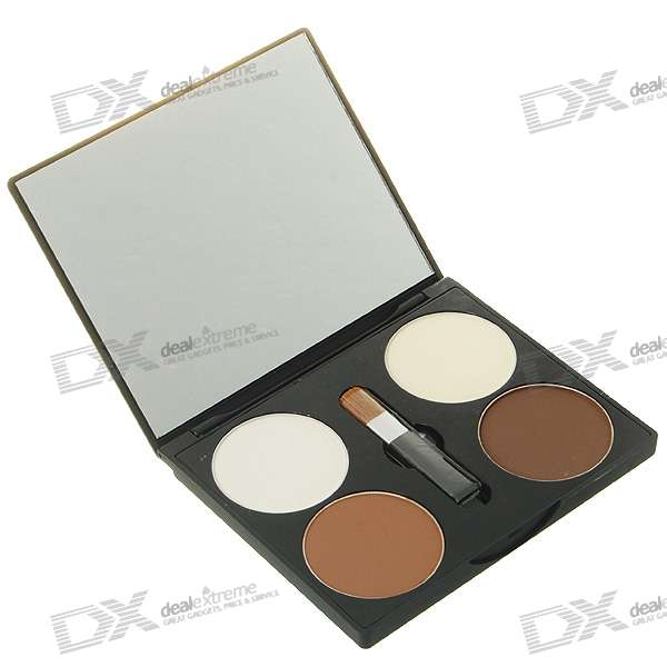 Maycheer Cosmetic 4-Color Face Powder Kit