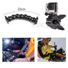 Jaws flex clamp kit de montaje, pulpo trípode para gopro hero serie- negro