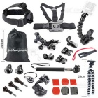 Jaws Flex Clamp Mount Kit + Krake-Stativ + Mehr zu GOPRO HERO Series & amp; Andere Sport-Kamera