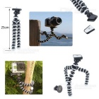 Jaws Flex Clamp Mount Kit + Octopus Tripod for Gopro Hero Series