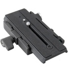 MH631 Quick Release System w/ MH611 Slide Plate Compatible with Giottos 357PLV - Black