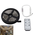 90W LED Light Strip Warm White Light 3000K 7200lm 1020-SMD 3014 w/ 6-Key Remote Controller (DC 12V)