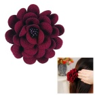 eQute Fashion Multi-function Suit Sweater Corsage Brooch / Scarf Buckle / Headdress Flower for Women