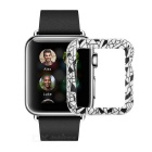 Protective Plastic Case for 38mm APPLE Watch - White + Black