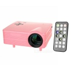 Proyector de cine en casa HD mini LED - rosa