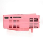 HD Mini LED Home Theater Projector - Pink