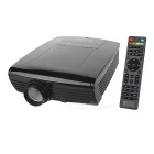 SV-600 Full HD 1080P HDMI Multimedia LED Home Theater Projector w/ 3D Function - Black