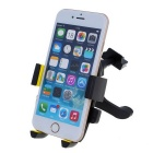 360' Rotating Car Air Vent Mount for Mobile Phones - Yellow + Black