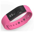 Iwown i5 Smart Bracelet Bluetooth Activity Wristband w/ Sleep Track / Caller ID Display - Deep Pink