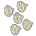 MR16 (GU5.3) 5W LED Spot Bulb Lights White 450lm 6000K 60-2835 SMD (AC 220-240V / 5PCS)