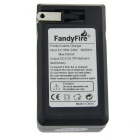 FandyFire 18650 US Plugs Double Slots Battery Charger
