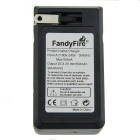 FandyFire 16340 US Double Slots Battery Charger - Black