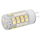 G4 5W LED Corn LED Bulb White Light 450lm 6000K 51-SMD 2835 (AC 220~240V)
