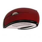 Plegable Ratón 2,4 G Wireless Optical Mouse - rojo + plata