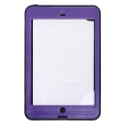 Redpepper Case Waterproof Snowproof Shockproof Anti-Reflective Glass Case for IPAD MINI - Purple