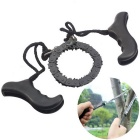 Outdoor Portable Hand Chain Saw - Black