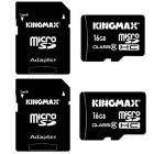 Kingmax Micro SD Class 6 16GB TF Card SDHC  Memory Card (2 PCS)