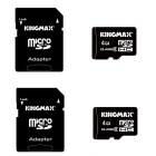 Kingmax Micro SD Class 6 4GB TF Card SDHC Memory Card - Black (2PCS)