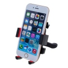 360' Rotating Car Air Vent Mount Holder for Mobile Phone - Red + Black