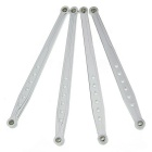 RC Link Brackets Rods for AXIAL 4WD 1:10 SCX10 Parts - Silver (4PCS)