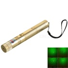 5mW 532nm Green Starry Laser Pointer - Champagne Gold (1*18650)
